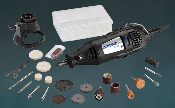 Dremel 2-Speed Electric Rotary Tool Kit